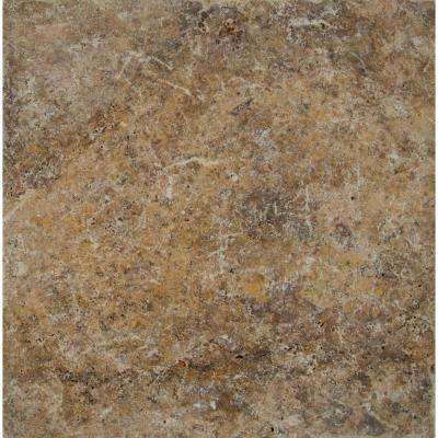 Tuscany Scabas 16 in. x 16 in. Tumbled Travertine Paver Tile (20 Pieces / 35.6 Sq. ft. / Pallet)