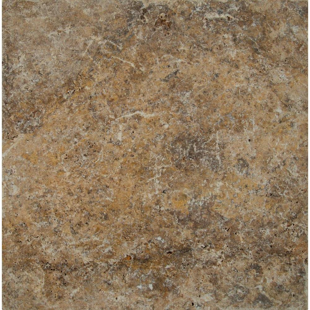 MSI 16 in. x 16 in. x 1.18 in. Tuscany Scabas Tumbled Travertine Paver Tile (60 Pieces/106.8 sq. ft./Pallet)