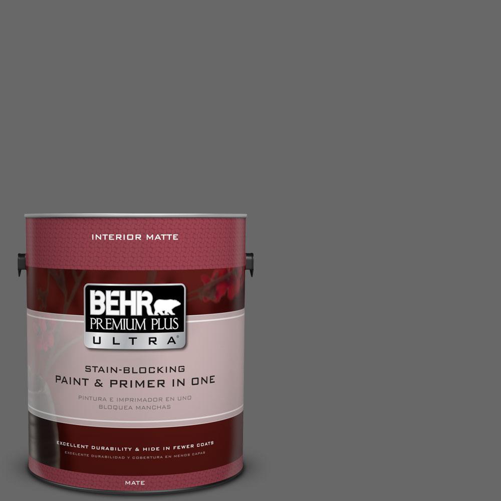 BEHR Premium Plus Ultra 1 gal. #T11-5 Not So Innocent Flat/Matte Interior Paint