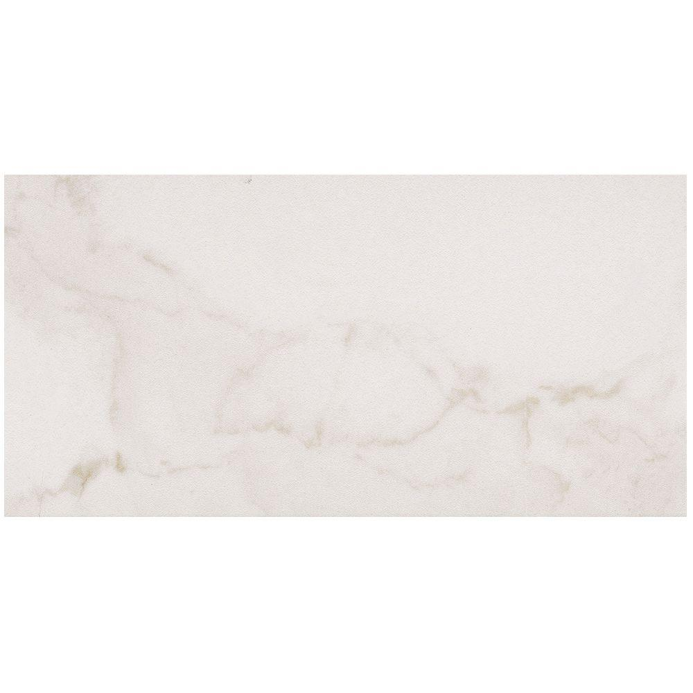 MARAZZI VitaElegante Bianco 12 in. x 24 in. Porcelain Floor and Wall Tile (15.6 sq. ft. / case)