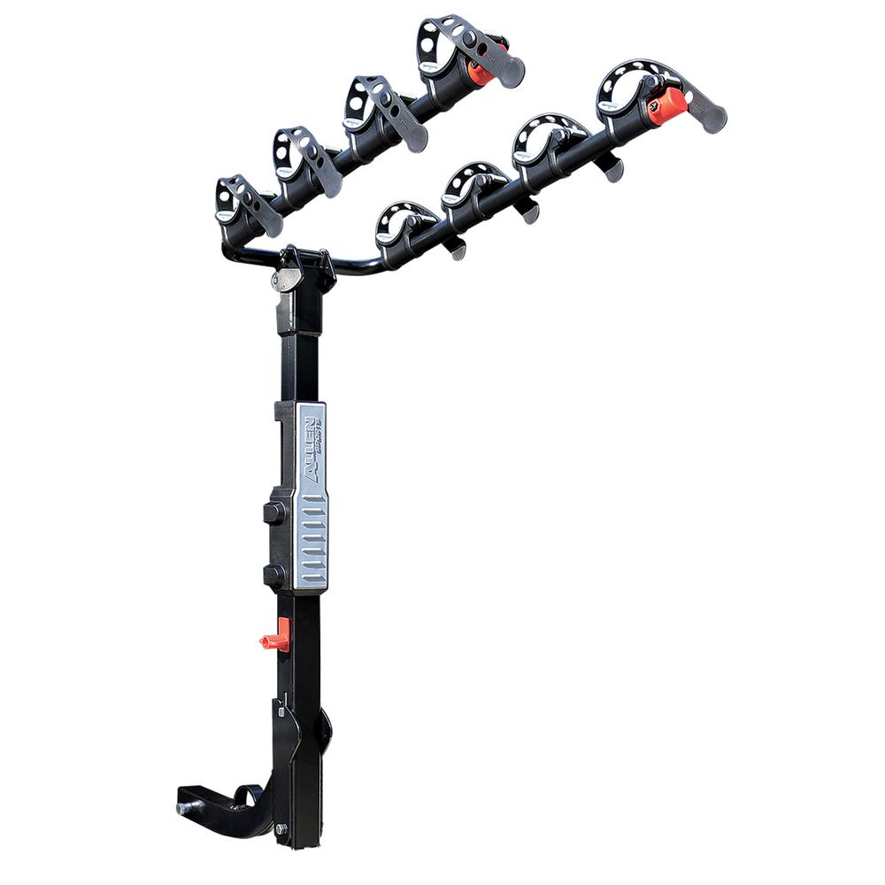140 lbs. Capacity 4-Bike Vehicle 2 in. Hitch Bike Rack