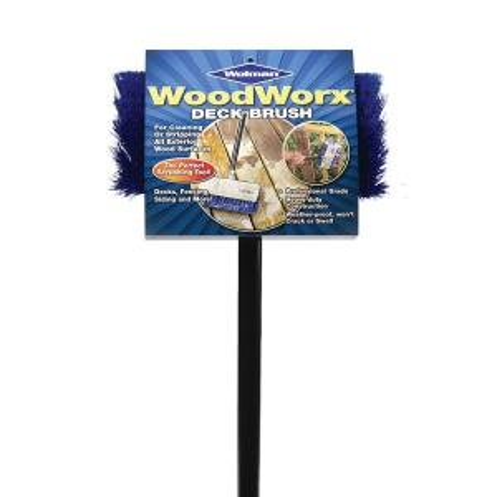 Wolman 5 ft. Bristle WoodWorx Deck Brush (6-Pack) by Wolman