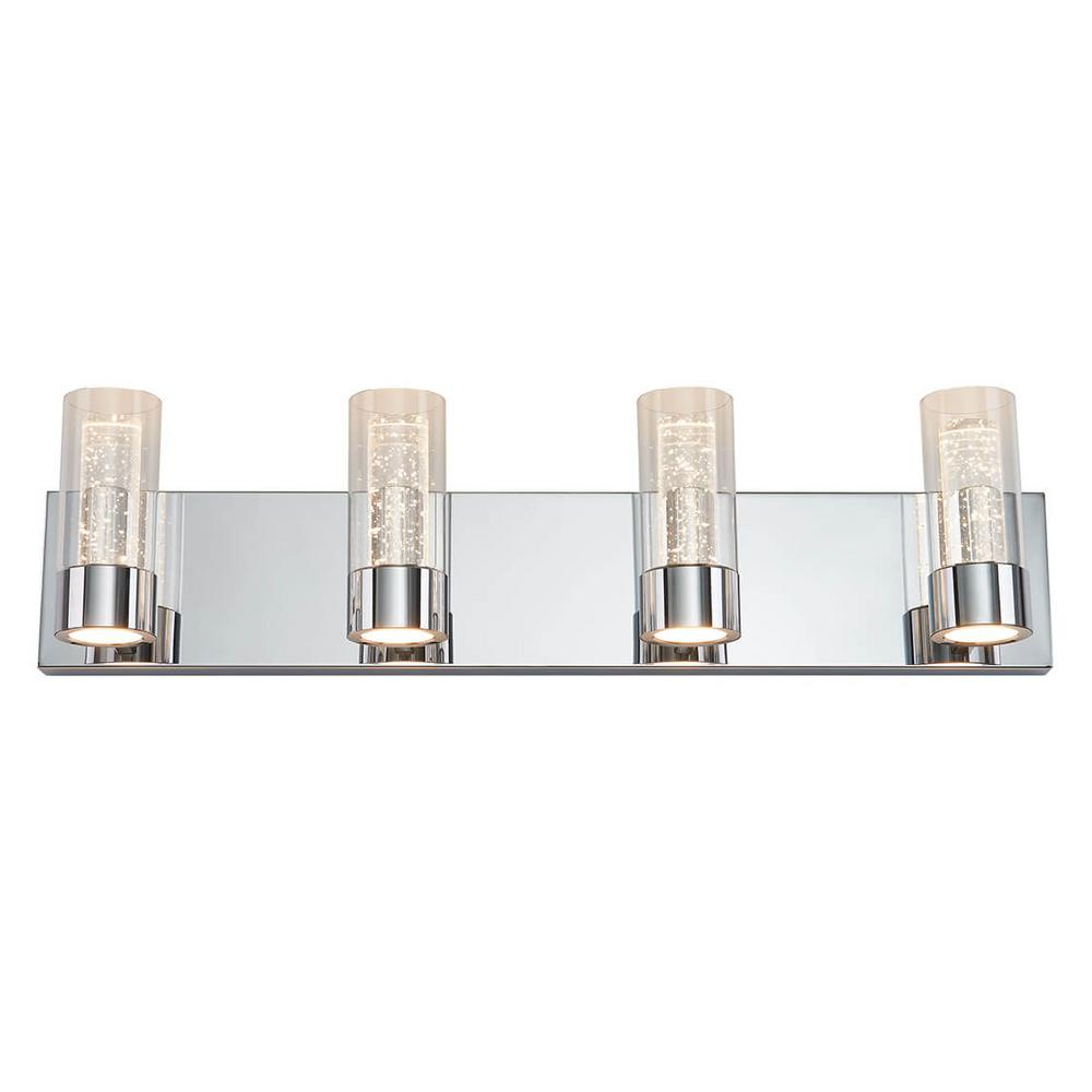 Artika Ratio 27 in. Chrome LED Vanity Light Bar