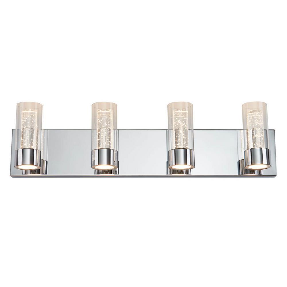 Ratio 27 in. Chrome LED Vanity Light Bar