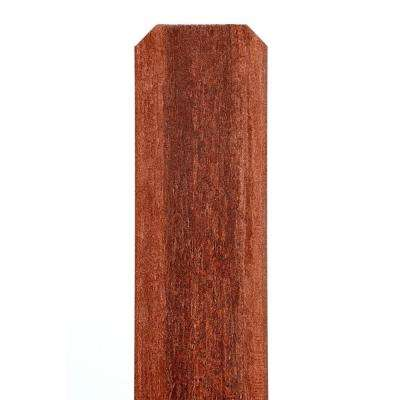 7/16 in. x 4-5/8 in. x 69 in. Heartwood Composite Dog-Ear Fence Picket