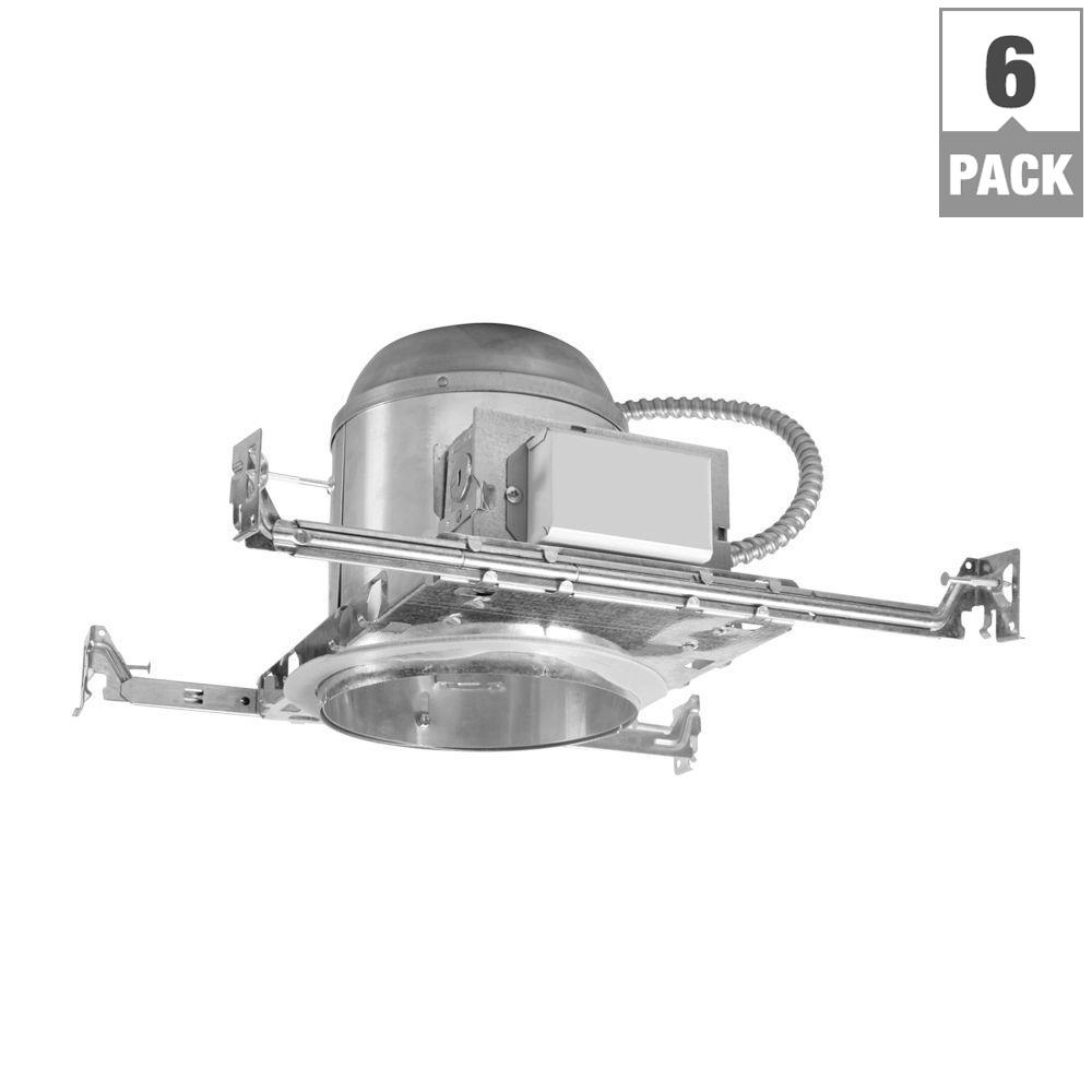 H272 6 in. Aluminum CFL Recessed Lighting Housing for New Construction