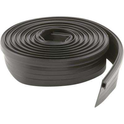 7/8 in. to 1-3/8 in. Wide 7 ft. Black Vinyl Bug Seal