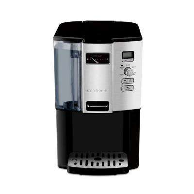 12-Cup Black Chrome Drip Coffee Maker with Programmable Settings