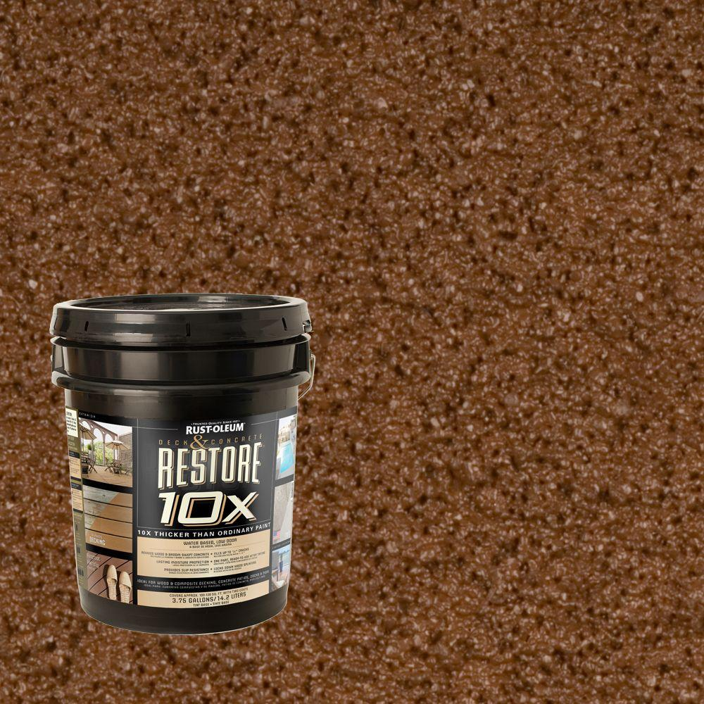 Rust-Oleum Restore 4-gal. Russet Deck and Concrete 10X Resurfacer