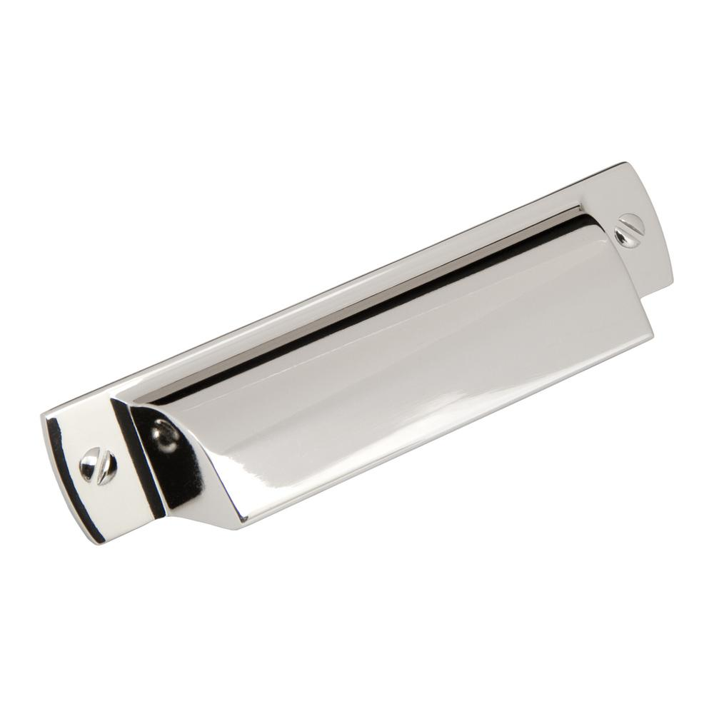 Sumner Street Home Hardware Lancaster 3 In Center To Polished Nickel Drawer Cup Pull