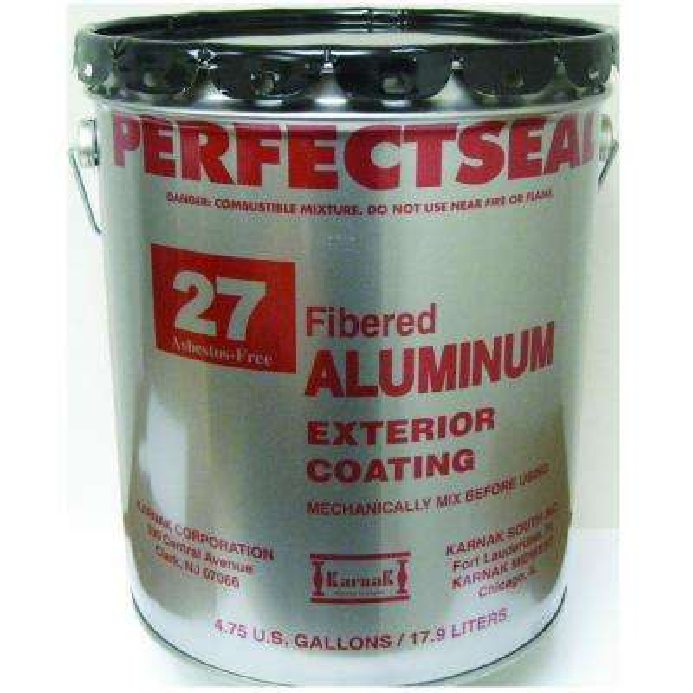5 Gal. Perfectseal Fibered Aluminum Reflective Roof Coating