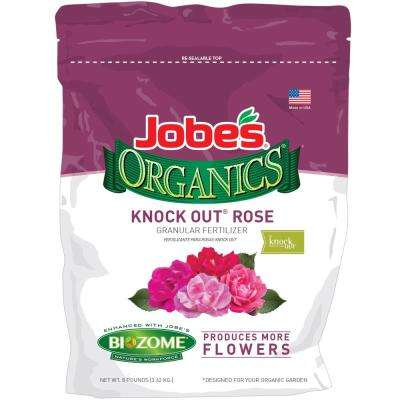 8 lbs. Organic Knock-Out Rose Plant Food with Biozome, OMRI Listed