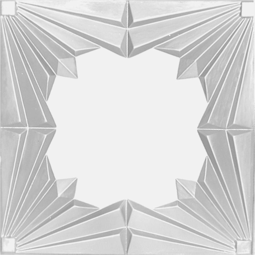 VILAC 2 ft. x 4 ft. Nail-up/Direct Application Tin Ceilin...