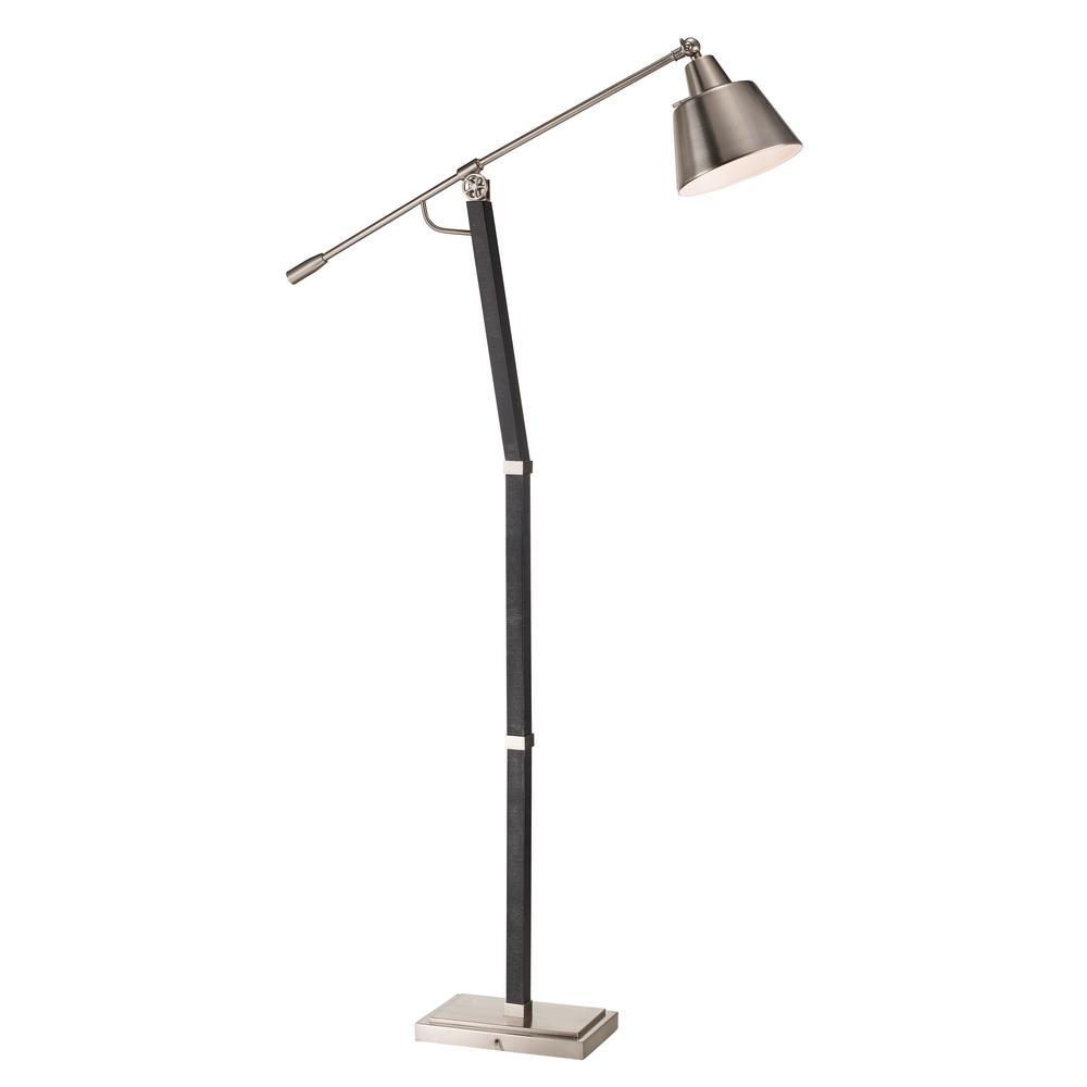 Bel air lighting anton 62 in brushed nickel floor lamp rtl 9016 bel air lighting anton 62 in brushed nickel floor lamp aloadofball Gallery