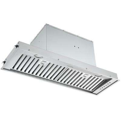 Inserta Euro 36 in. 650 CFM Ducted Insert Range Hood with Night Light Feature
