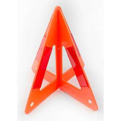 Reflecting Auto Emergency Triangle with Stand