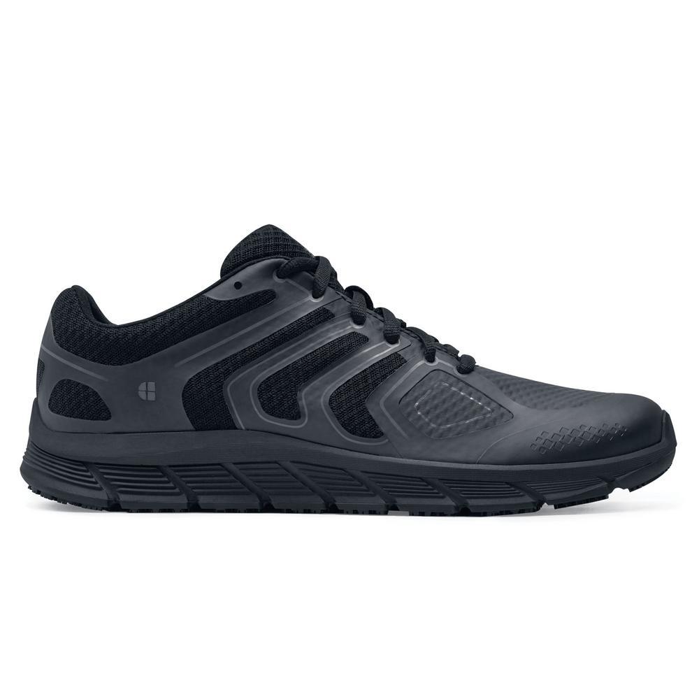 Stride Men's Size 12M Black Mesh/Synthetic Slip-Resistant Work Shoe