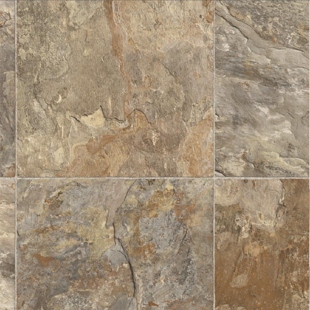 Fowler Tile 13.2 ft. Wide x Your Choice Length Residential Sheet Vinyl Flooring