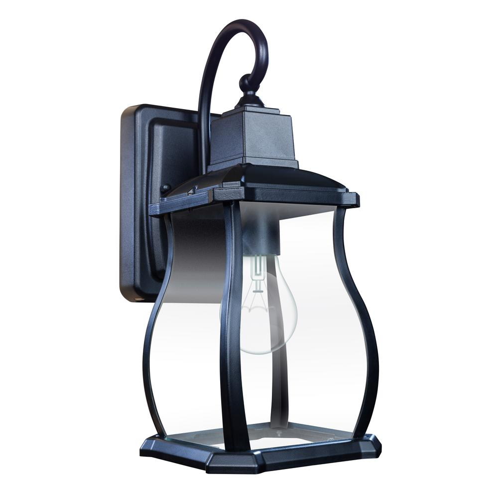 Northampton 1-Light Black Outdoor Wall Lantern