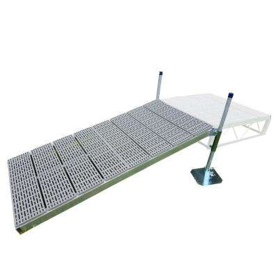 4 ft. x8 ft. Shore Ramp Kit with Poly Decking