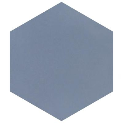 Textile Hex Ducados 9-7/8 in. x 8-5/8 in. Porcelain Floor and Wall Tile (11.56 sq. ft. / Case)