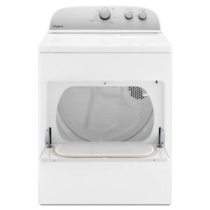 7.0 cu. ft. 240-Volt White Electric Vented Dryer with AUTODRY Drying System