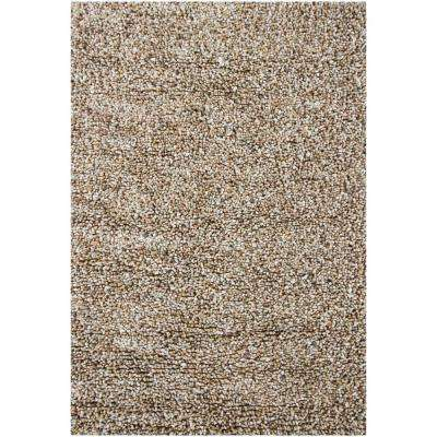 Gems Taupe/Ivory/Tan 9 ft. x 13 ft. Indoor Area Rug