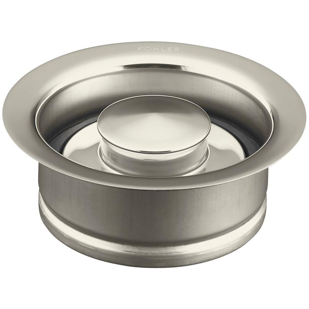 Disposal Flange in Vibrant Polished Nickel