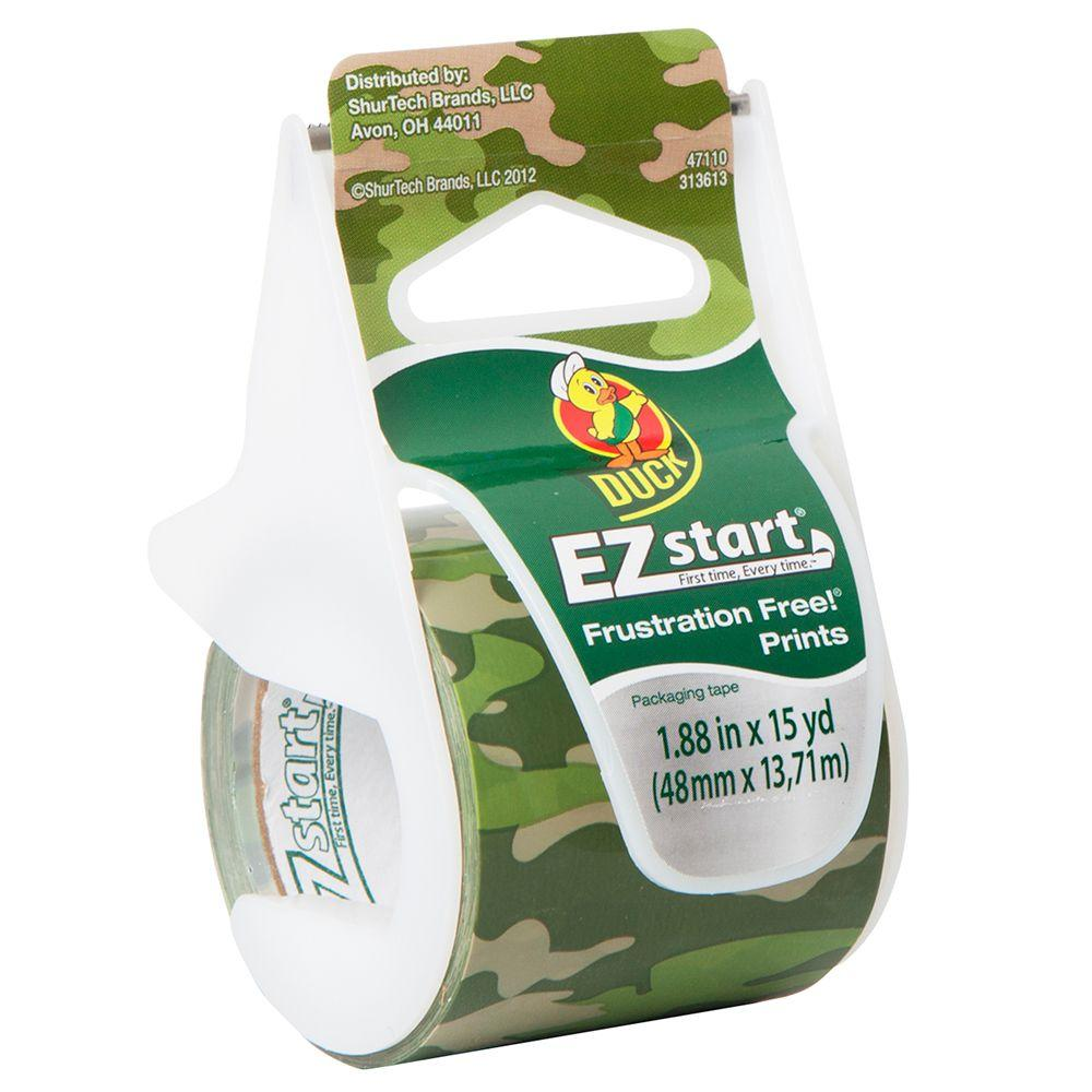 1.88 in. x 15 yds. Camo EZTP Packaging Tape (5-Pack)