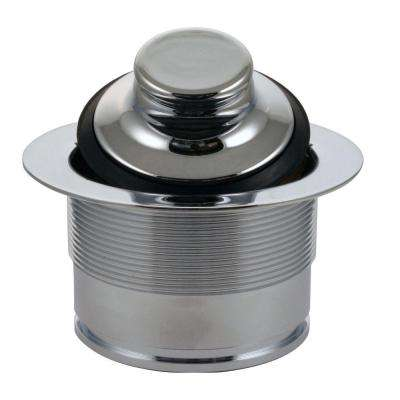 3-1/2 in. Brass EZ Mount Disposal Flange and Stopper