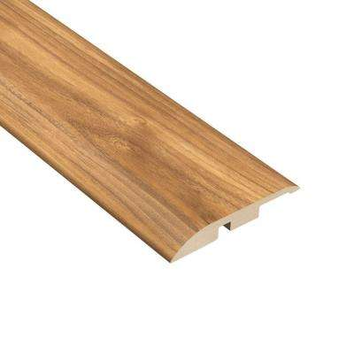Teak Harbor 7/16 in. Thick x 1-5/16 in. Wide x 94 in. Length Vinyl Multi-Purpose Reducer Molding