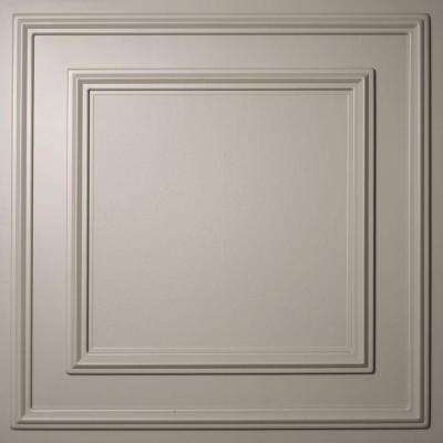 Cambridge Latte 2 ft. x 2 ft. Lay-in or Glue-up Ceiling Panel (Case of 6)