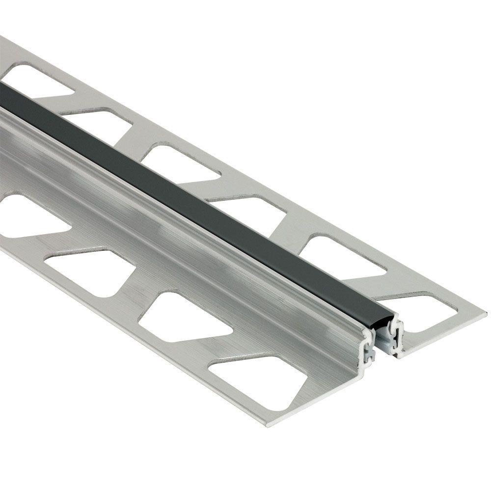 Dilex-AKWS Aluminum with Black Insert 3/8 in. x 8 ft. 2-1/2