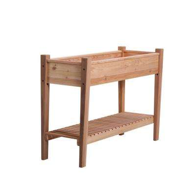 45 in. x 32 in. Natural Cedar EZ Plant Elevated Garden