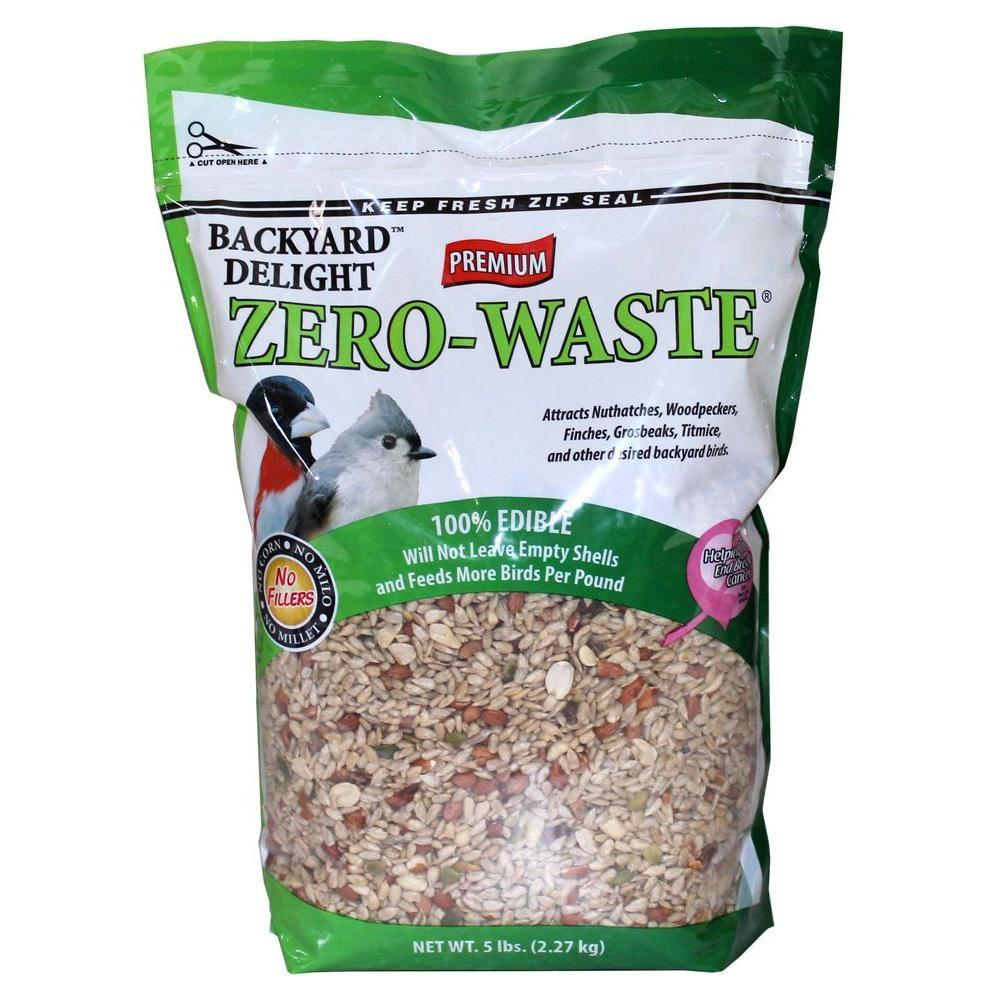 5 lb. Zero Waste Bird Food
