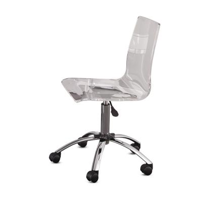 Arthur Clear Adjustable Swivel Chair