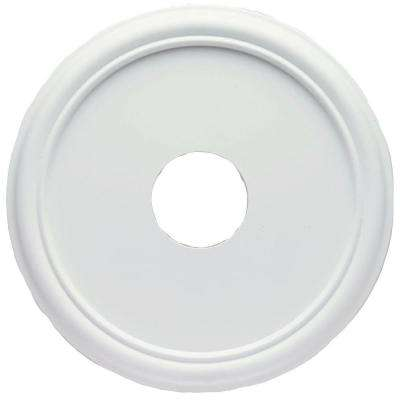 16 in White Smooth Ceiling Medallion