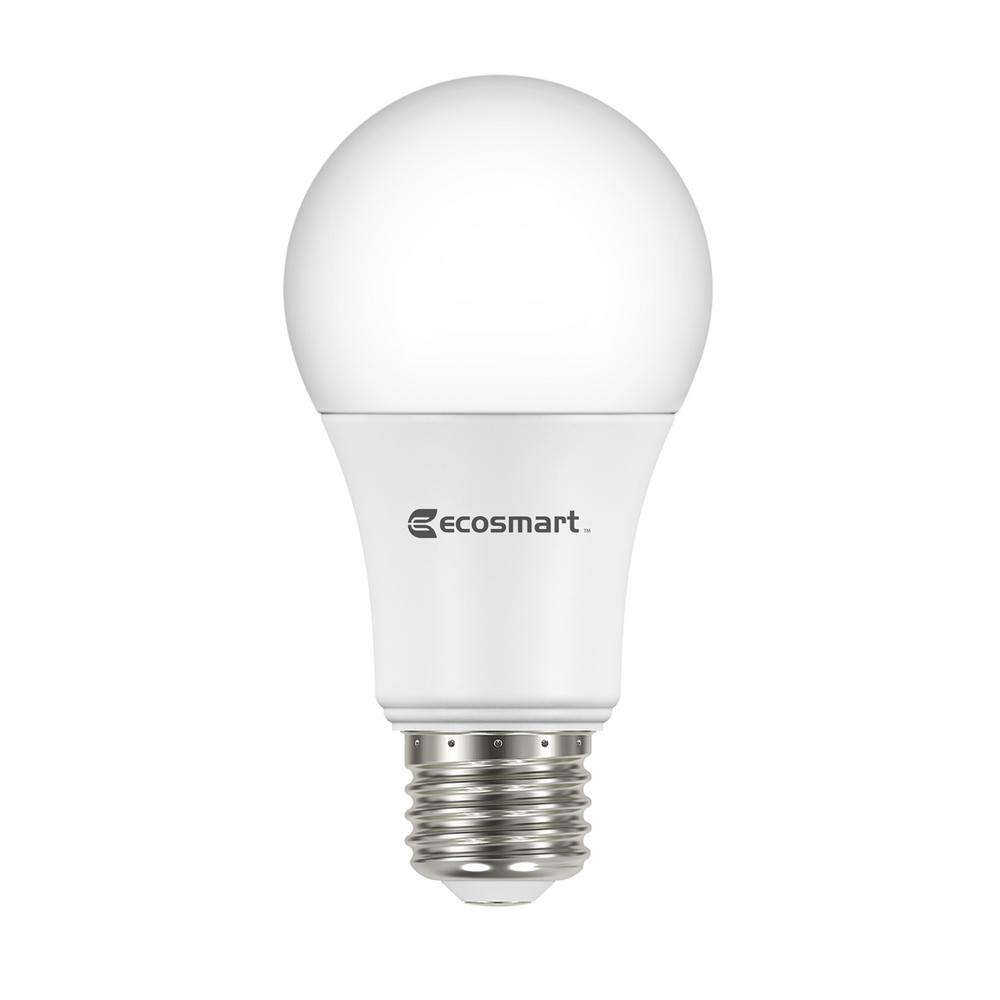 60W Equivalent Soft White A19 Basic Non-Dimmable LED Light Bulb