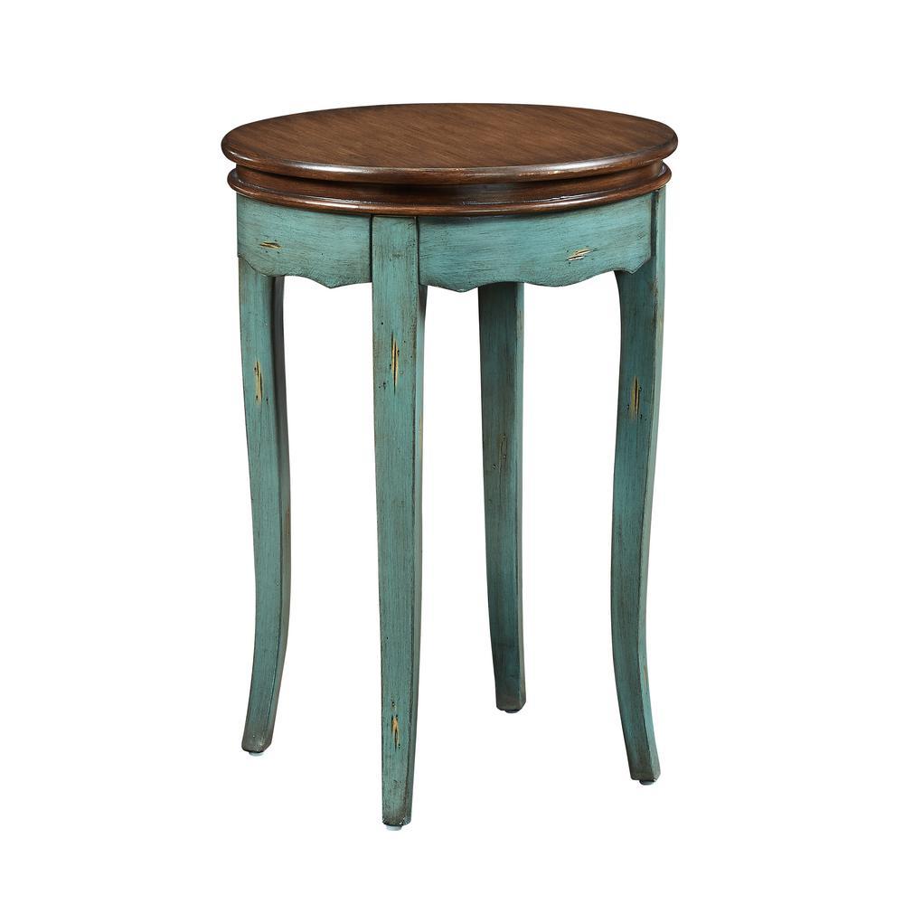 Rachel Round Table Teal