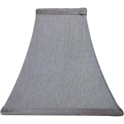 Mix & Match Bavarian Grey Square Bell Accent Shade