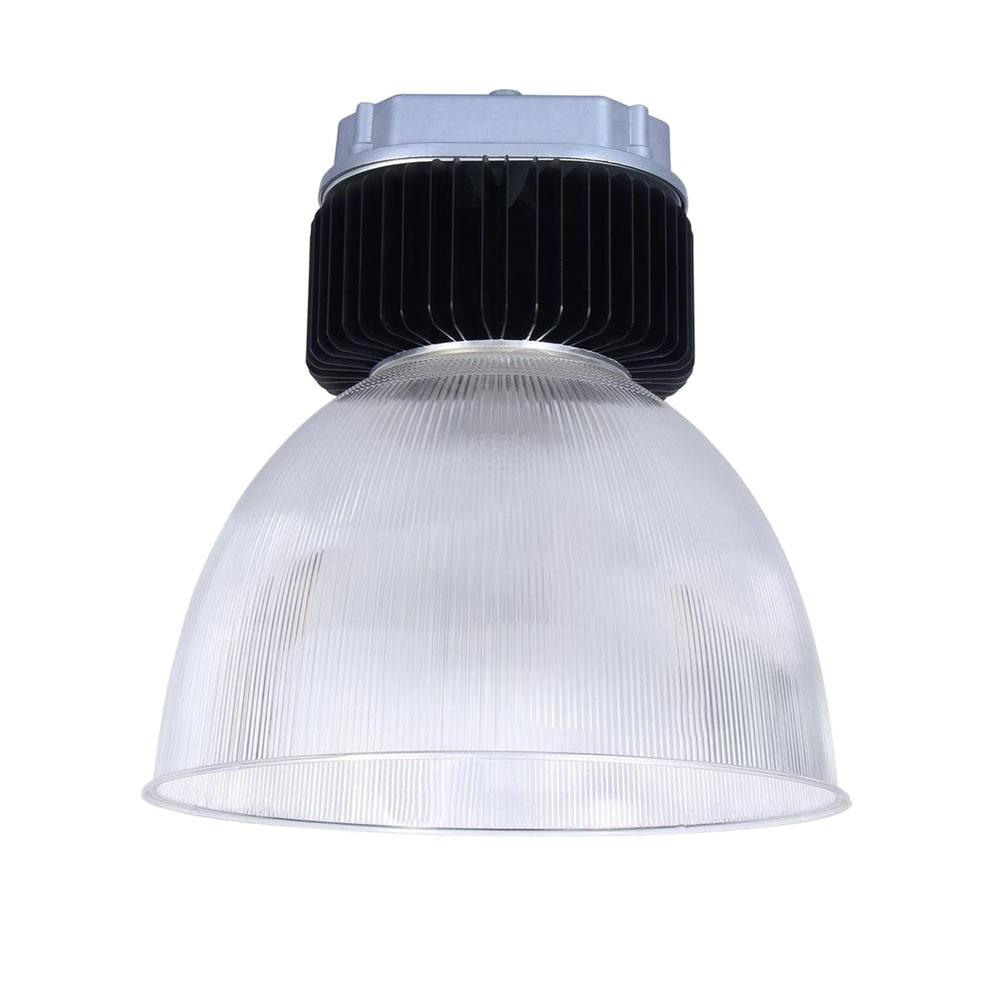 Axis LED Lighting 4-Light Black LED 200-Watt Bell High Bay with Natural  sc 1 st  The Home Depot : high bay led lighting - azcodes.com