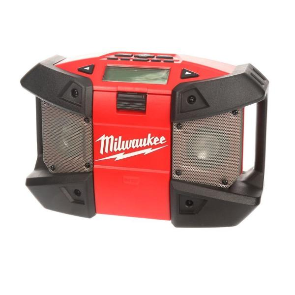 Milwaukee M12 12-Volt Lithium-Ion Cordless Job-Site Radio (Tool-Only)
