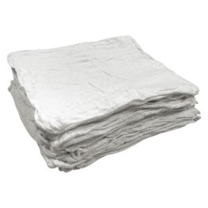 50-Count 12 in. x 14 in. White Shop Towels
