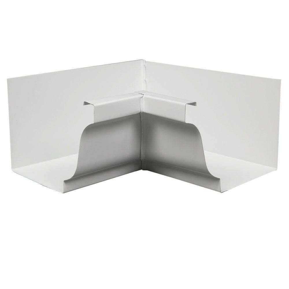 Amerimax Home Products 5 in. Aluminum Inside Mitre