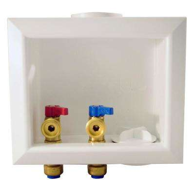 1/2 in. Brass Washing Machine Outlet Box