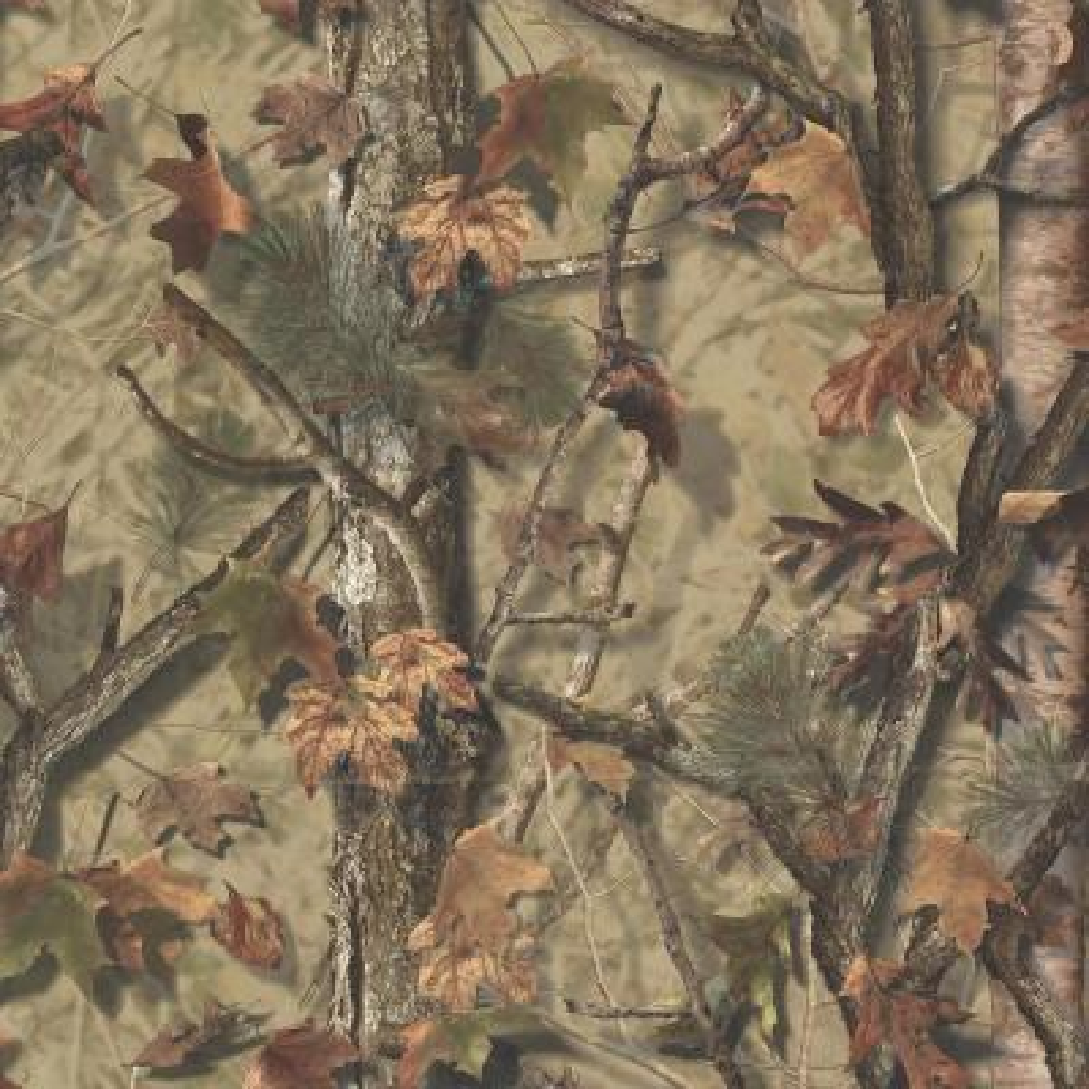 Sawgrass Brown Camo Forest Wallpaper Sample