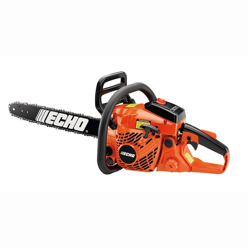 Echo 16 in 363 cc gas chainsaw cs 370 16aa the home depot echo 16 in 363 cc gas chainsaw greentooth