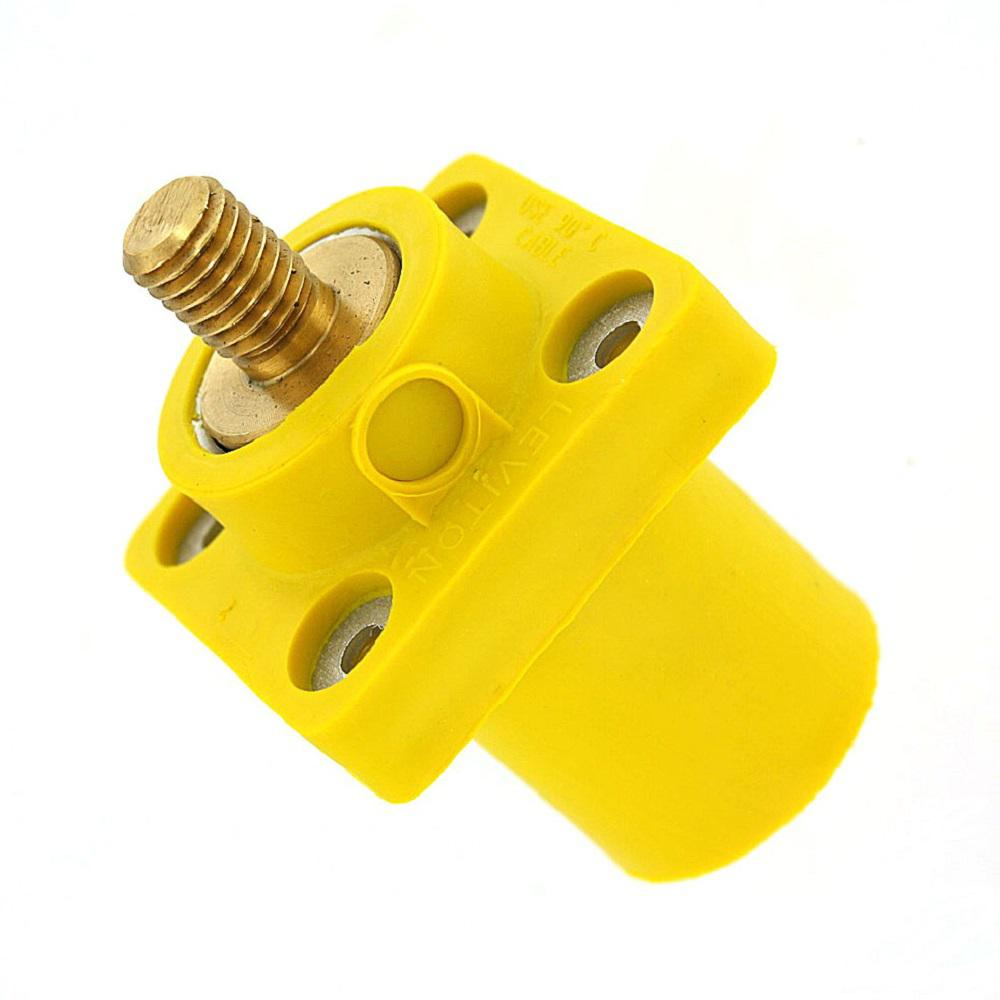400 Amp 16-Series Taper Nose Male Plug Contact and Insulator Detachable