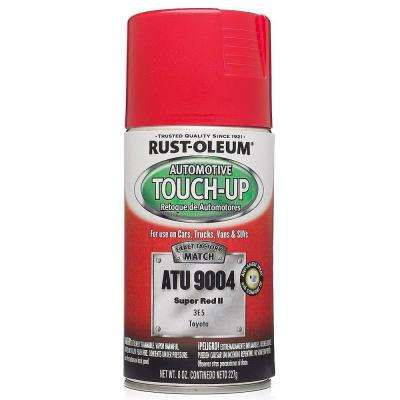 8 oz. Super Red II Auto Touch-Up Spray (6-Pack)