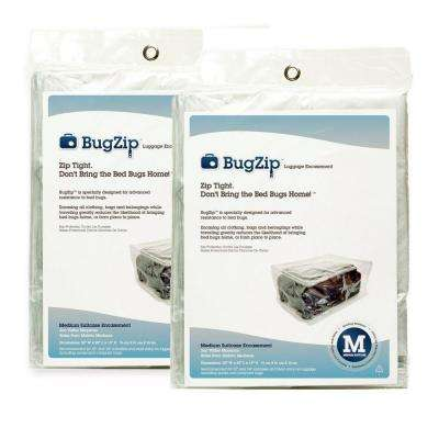 Bed Bug Medium Resistant Suitcase and Clothing Encasement (2-Pack)